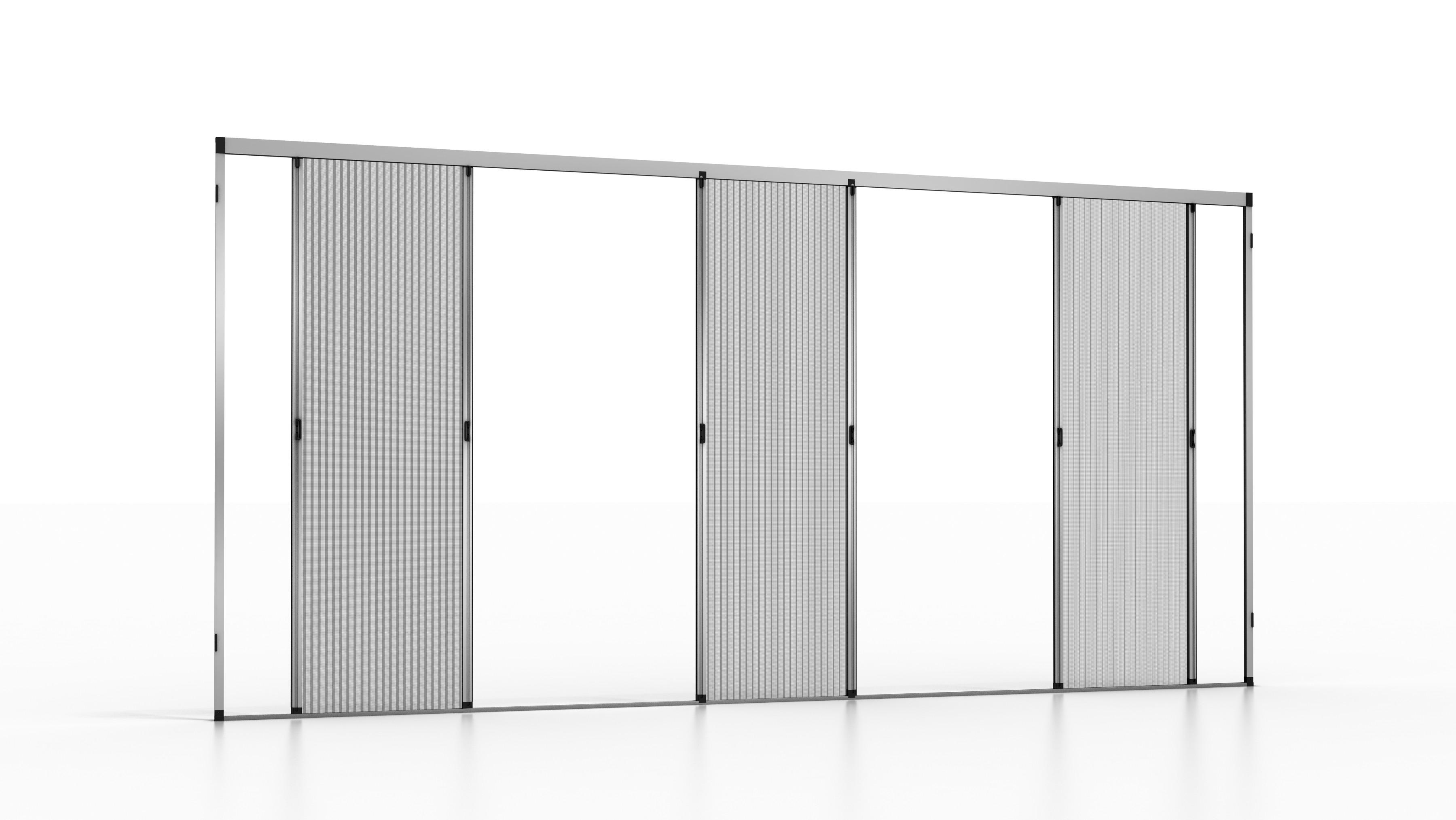 Plissee Fliegengitter aus Aluminium für Fenster und Türen - Platinum ...